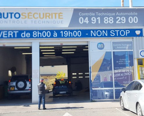 Centre de controle technique Marseille la Valentine